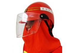 橘色森林消防头盔 消防员安全帽 森林防火防震头盔