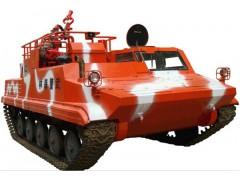 SXD09型多功能履带式森林消防车